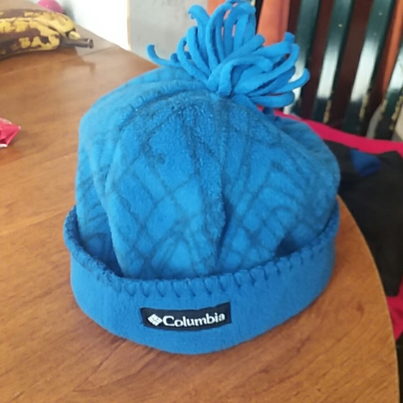 Columbia Youth Infant Baby Boys//Girls Blue Hat OS NWT